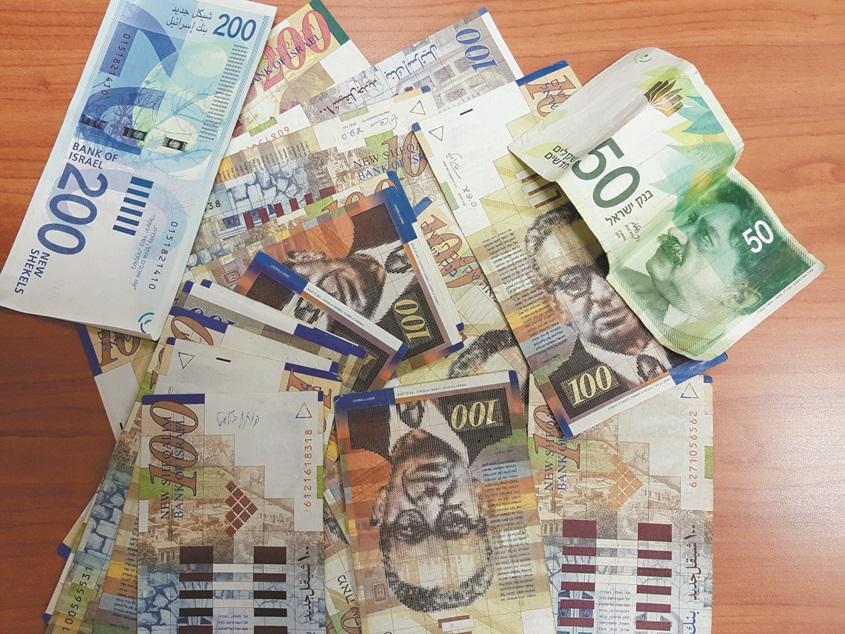 שטרות כסף. צילום אילוסטרציה: אידית בכר