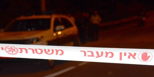 משטרה זירה. צילום: משטרת ישראל