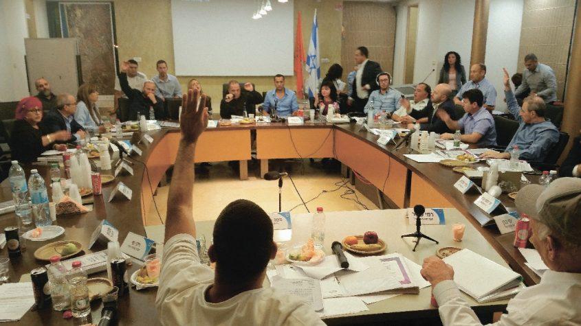 ישיבת מועצת העיר אשקלון