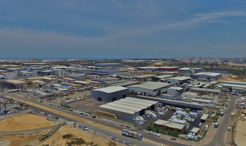 אזור התעשייה הדרומי. צילום: אחי בנאי