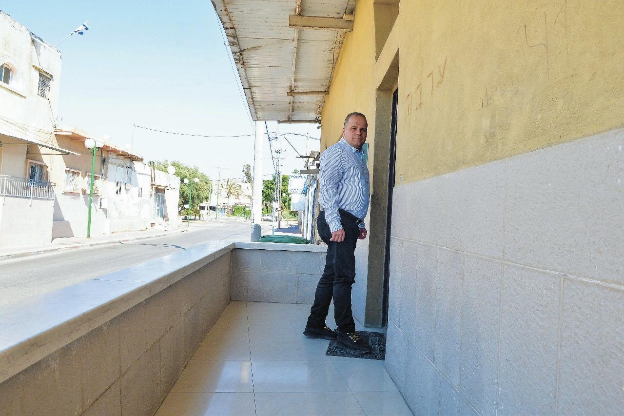 ראש עיריית אשקלון בפועל, תומר גלאם. צילום: אורי קריספין