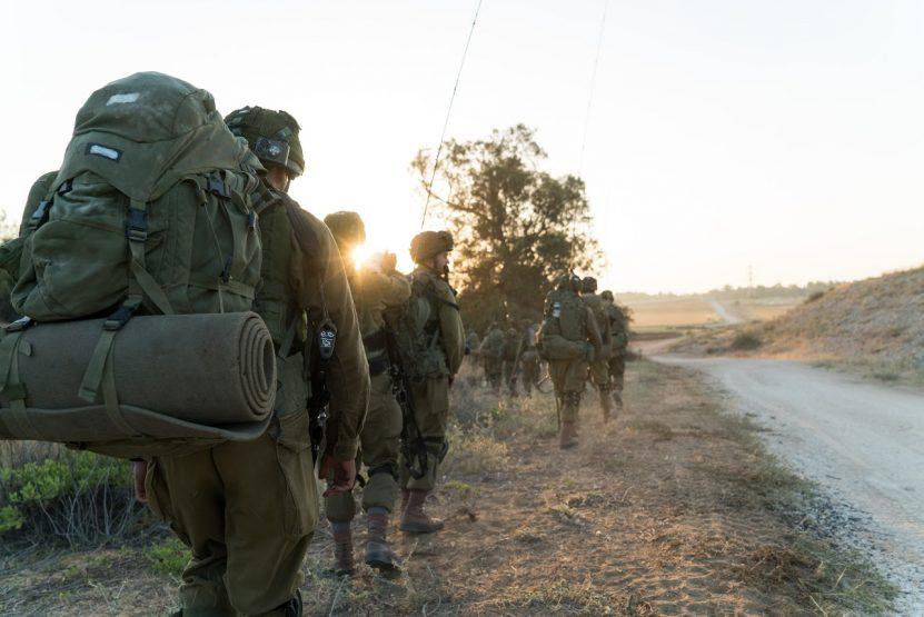 """חיילים בתרגיל באשקלון. צילום: דובר צה""""ל"""