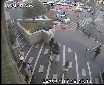 התאונה השניה. צילום: UAP