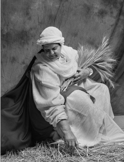 ענת רייס בדמות רות המואביה. צילום: צפריר ניר