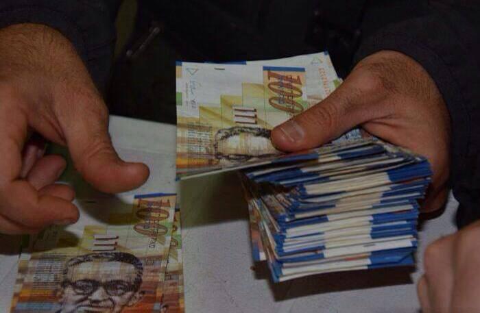 שטרות כסף. אילוסטרציה: דוברות המשטרה