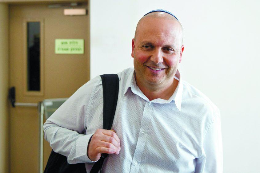 שלב ההוכחות במשפטו של ראש עיריית אשקלון איתמר שמעוני בית משפט מחוזי תל אביב. צילום: מוטי מילרוד