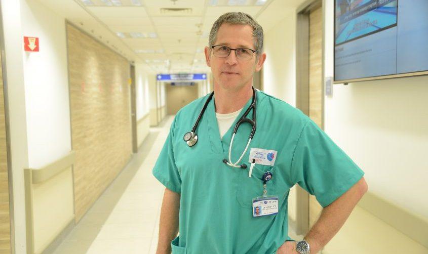 דוקטור יונתן ריק. צילום רפואי ברזילי