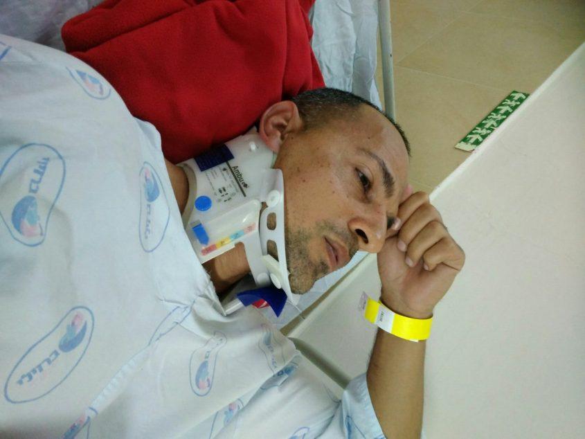 """כוכב """"גיבורים"""", הכבאי אלי כהן, נפגע בתאונת דרכים"""