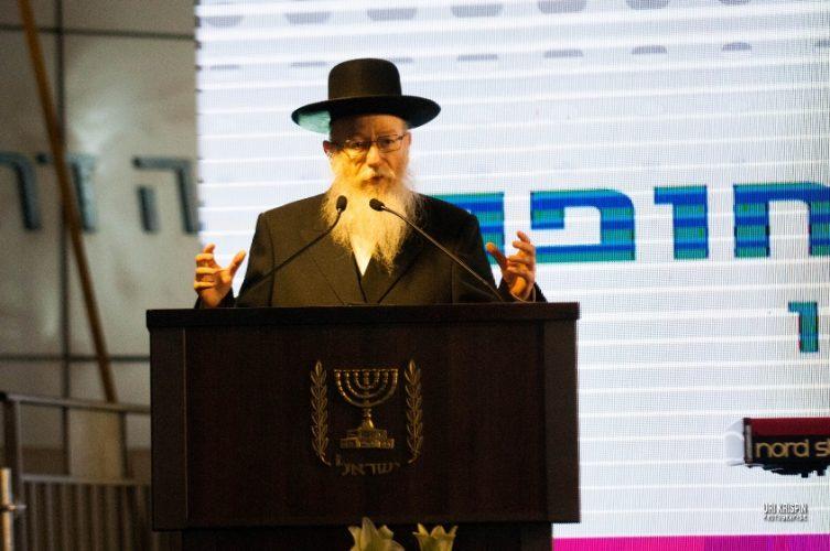 שר הבריאות יעקב ליצמן. צילום: אורי קריספין