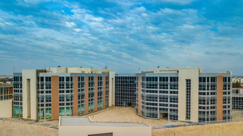 האגף החדש במרכז הרפואי ברזילי. צילום: אדי ישראל