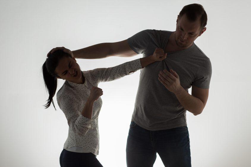 אלימות בין בני זוג. אילוסטרציה: אי.אס.אי.פי