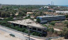 בניין נטוש מרגוע בטון אשקלונה. צילום: אלירם משה