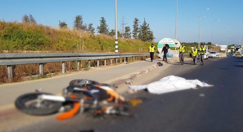 """גופה תאונת דרכים הרוג קטלנית מד""""א אופנוע. אילוסטרציה"""