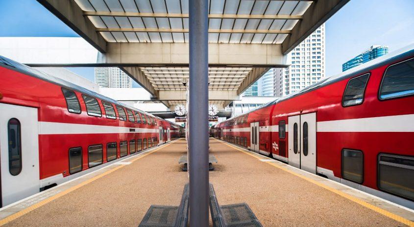 תחנת רכבת ישראל. צילום: דוברות הרכבת