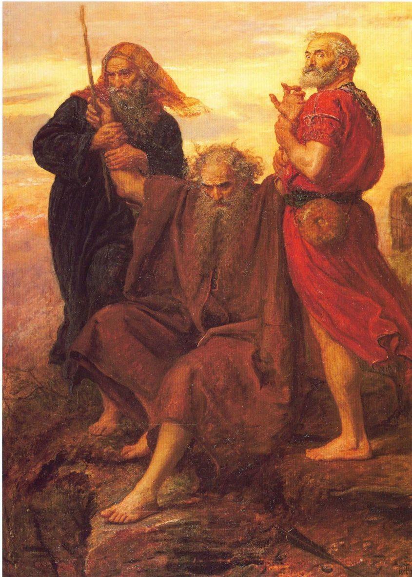 משה רבינו עם אהרון וחור. ג'ון אוורט מיליי