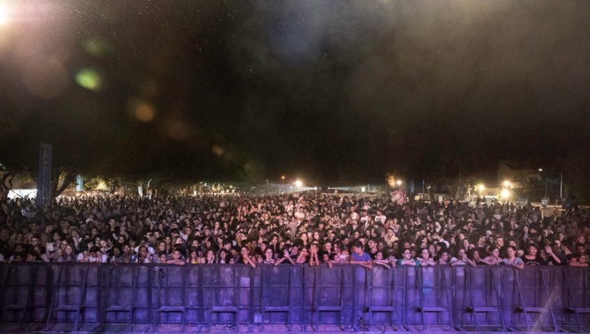 הקהל האשקלוני מגיע להופעות. צילום: סיוון מטודי
