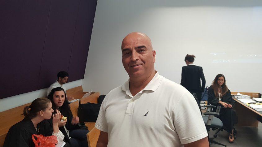שלמה סויסה באולם בית המשפט