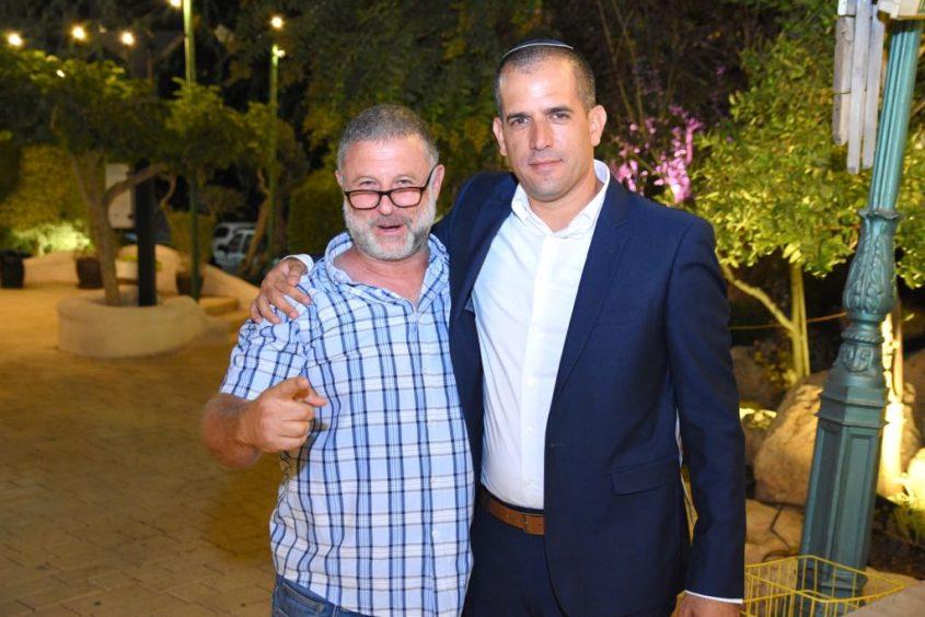 רביבו ואברמוביץ. צילום: מיכאל אפריאט
