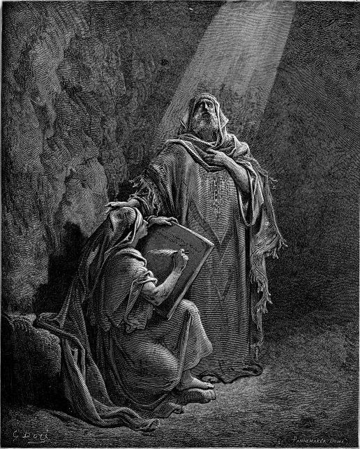 ירמיהו מנבא ובן נריה מעתיק את נבואותיו במרץ. תחריט מאת גוסטב דורה באדיבות ויקיפדיה