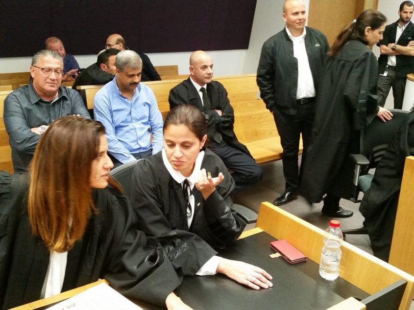 אולם בית המשפט בתיק שמעוני