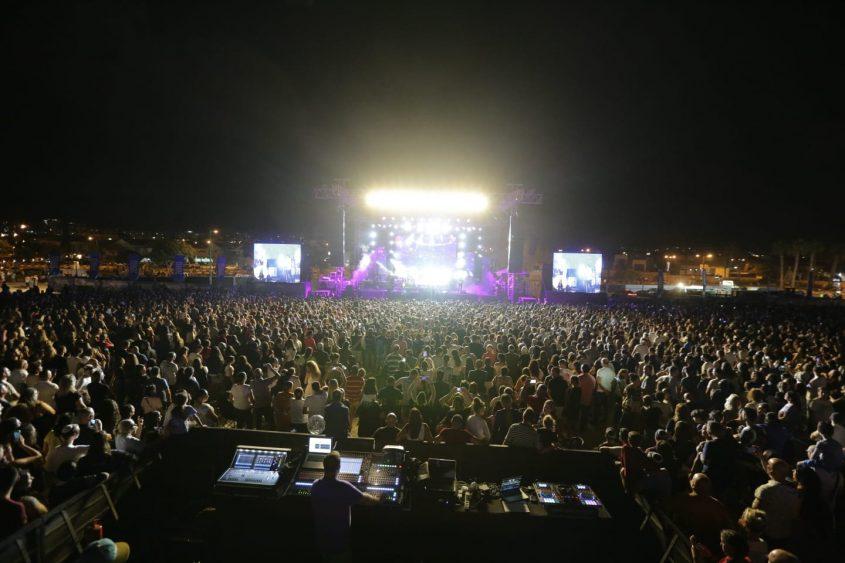 פסטיבל קהל הופעה דרום עולה 2018. צילום: אדי ישראל