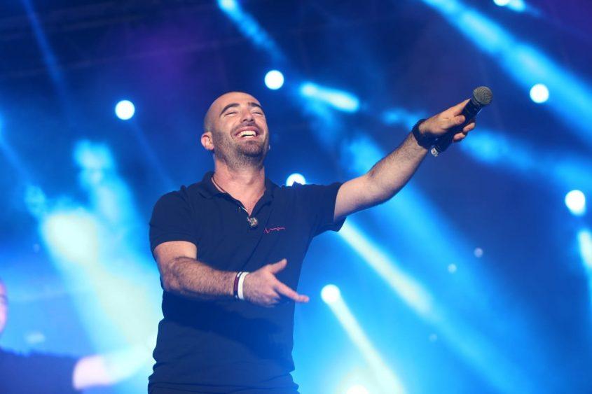עומר אדם הופעה קהל פסטיבל דרום עולה 2018. צילום: אדי ישראל