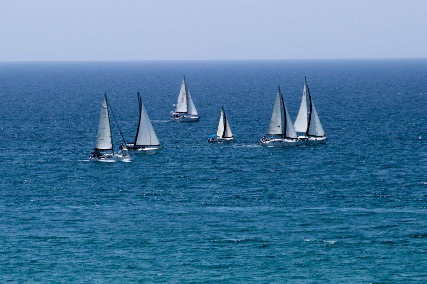 מפרשיות אל מול אשקלון. צילום: טל רזניק