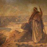 משה על הר נבו, רוברט הוק דאולינג. Paisley Museum and Art Galleries, Renfrewshire Council Collections