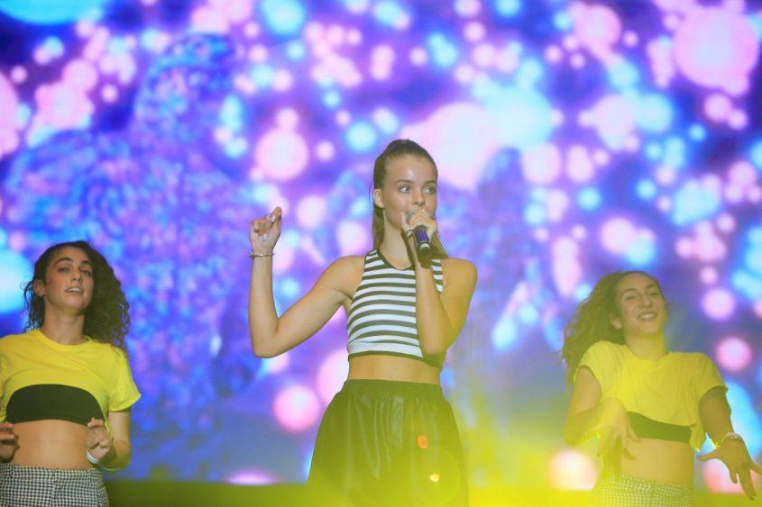 אנה זק הופעה זמרת פסטיבל דרום עולה 2018. צילום: אדי ישראל
