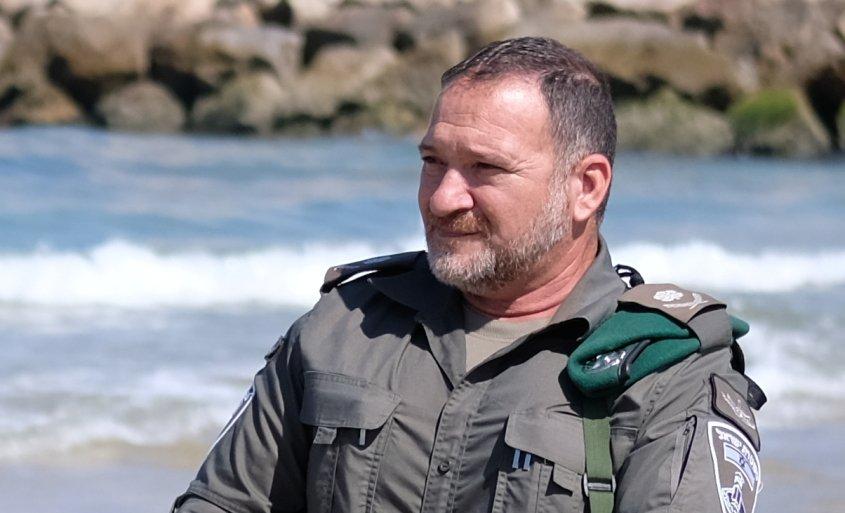 מפקד מגב. צילום: עדי תשובה