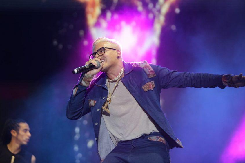 סטטיק לירז רוסו הופעה זמר פסטיבל דרום עולה 2018. צילום: אדי ישראל