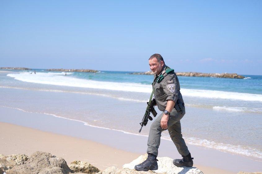 """מפקד משמר הגבול מג""""ב ניצב שבתאי. צילום: עדי תשובה"""