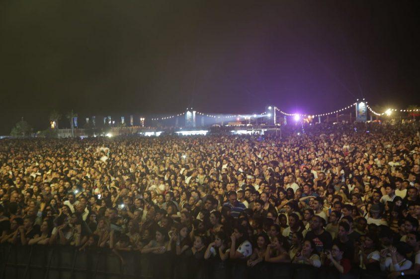 קהל פסטיבל הופעה דרום עולה 2018 צילום: אדי ישראל