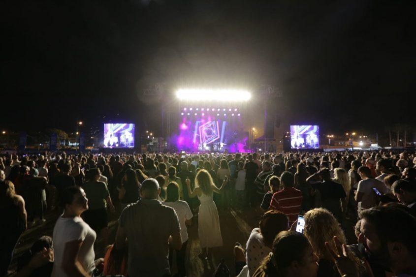 קהל פסטיבל הופעה דרום עולה 2018. צילום: אדי ישראל