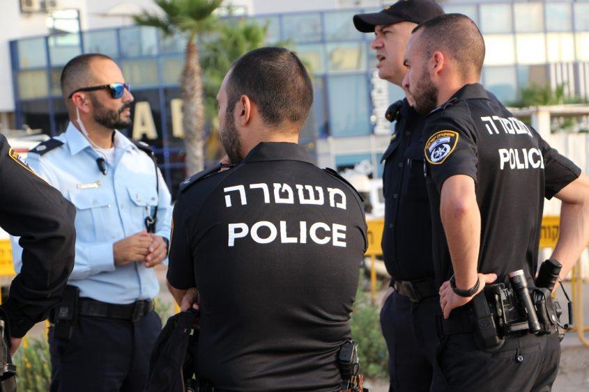 שוטרים חקירה צוות משטרה. צילום: דוברות המשטרה