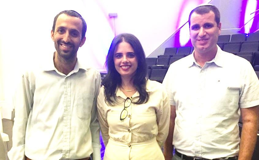 מרסיאנו, איילת שקד ועמיחי סיבוני מספר 1 ברשימה