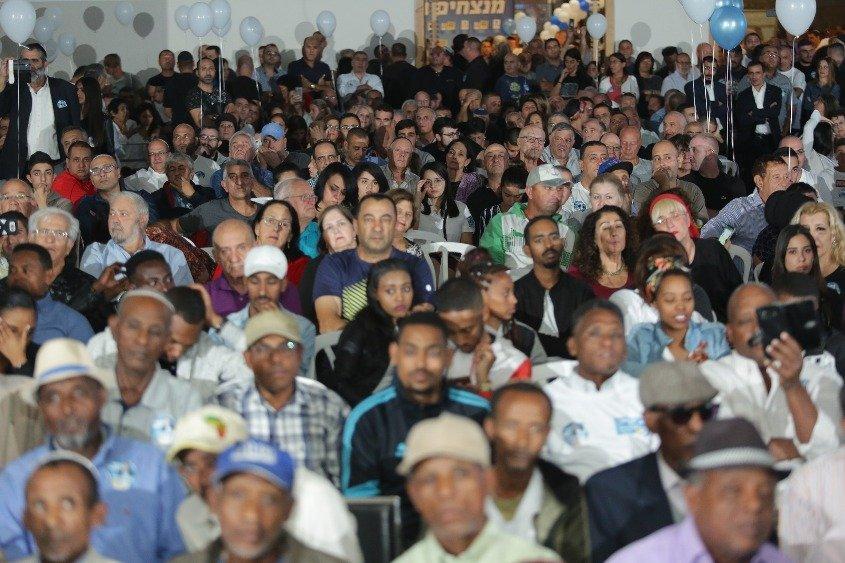 קהל רב. צילום: אלדד עובדיה