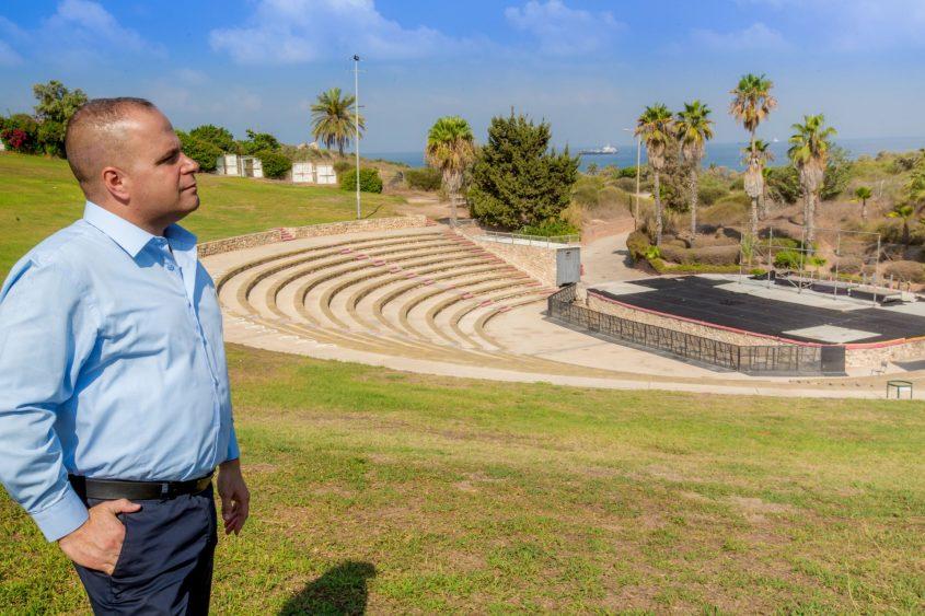 ראש העירייה, תומר גלאם. צילום: אדי ישראל