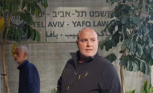 רועי רביב בפתח בית המשפט המחוזי בתל אביב