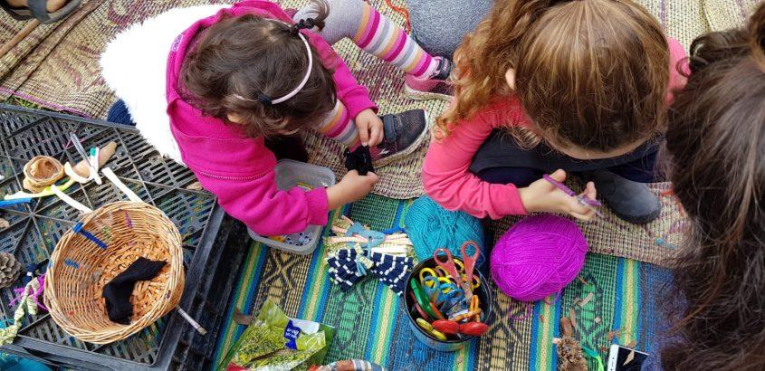 ילדים מהדרום בפעילות בגן הבוטני