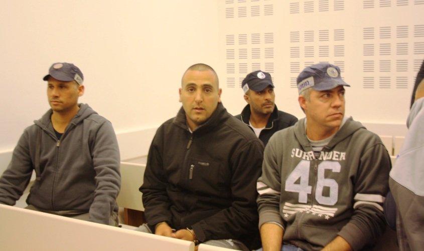 בני שלמה בעת הארכת מעצר. ינואר 2016
