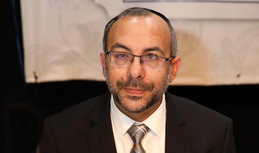 הרב יעקב אביטן בישיבת המועצה החגיגית. צילום: סיון מטודי