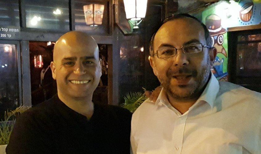 הרב יעקב אביטן ואיתי סהר לפני הבחירות