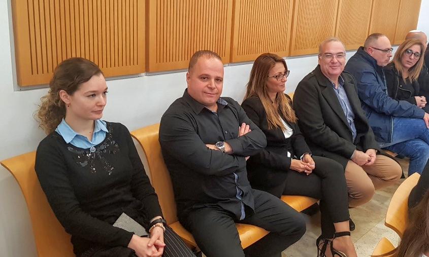 תומר גלאם בבית המשפט