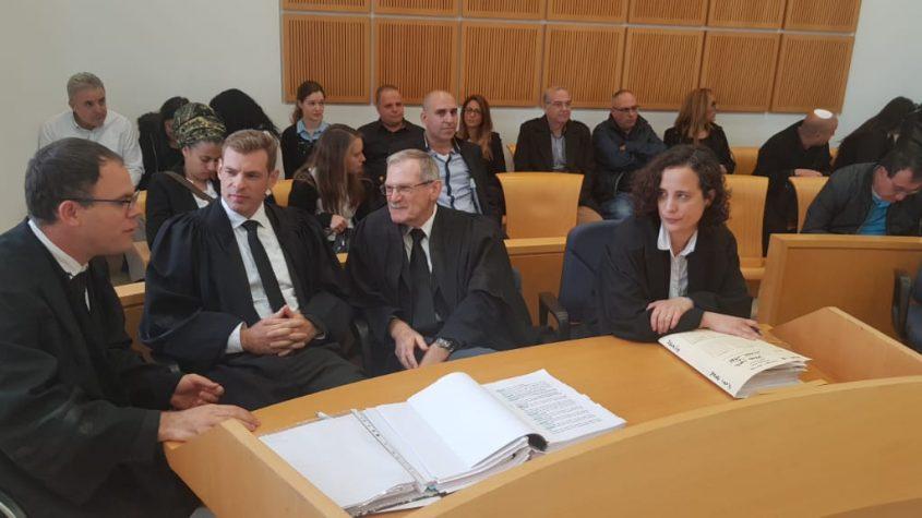 נציגת הפרקליטות ועורכי הדין של תומר גלאם