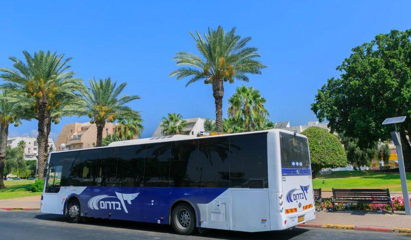 אוטובוס דן בדרום. צילום: דוברות העירייה
