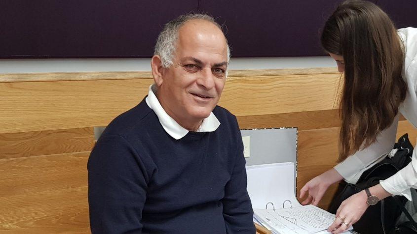 מהנדס העיר לשעבר, דוד ירון, בבית המשפט