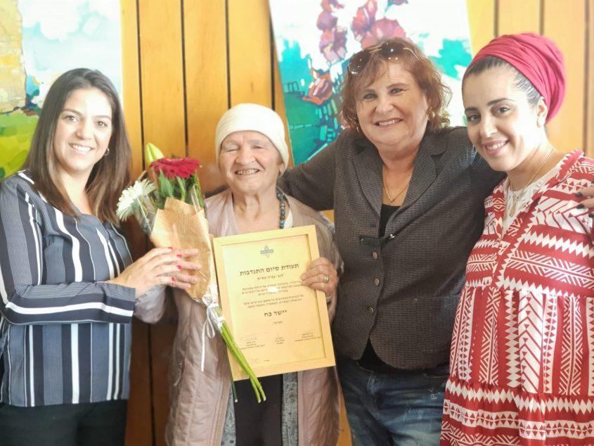 חוף אשקלון: מוקירים את מתנדבי 'חוף מבטחים'