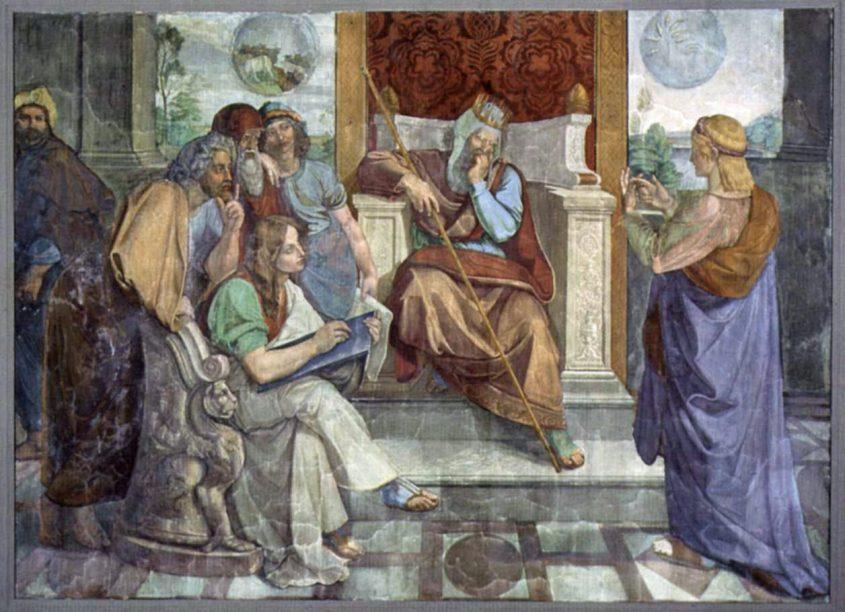 יוסף פותר החלומות במצרים, בציור מאת פטר פון קורנליוס משנת 1816 לערך. מוצג בגלריה הלאומית הישנה בברלין. באדיבות ויקיפדיה