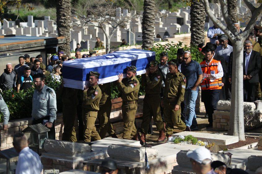 """הלווית החייל יובל מוריוסף ז""""ל. צילום: אילן אסייג"""